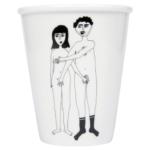 Tasje naked couple