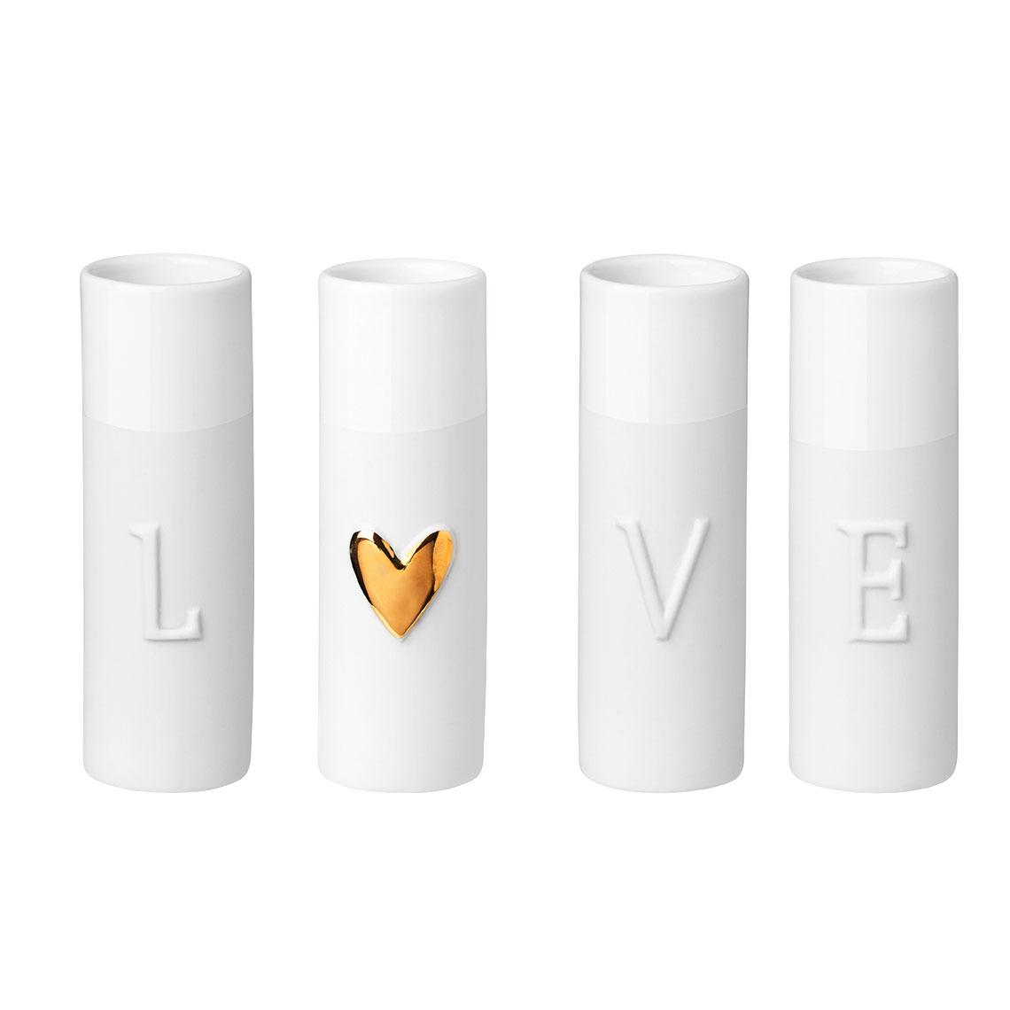 Mini-vaasjes LOVE