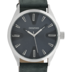 Timepieces horloge C10023 grijsblauw