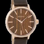 Timepieces horloge C9253 bruin/kerselaar