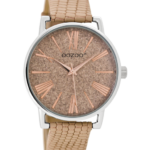 JR horloge 301 zand/rose