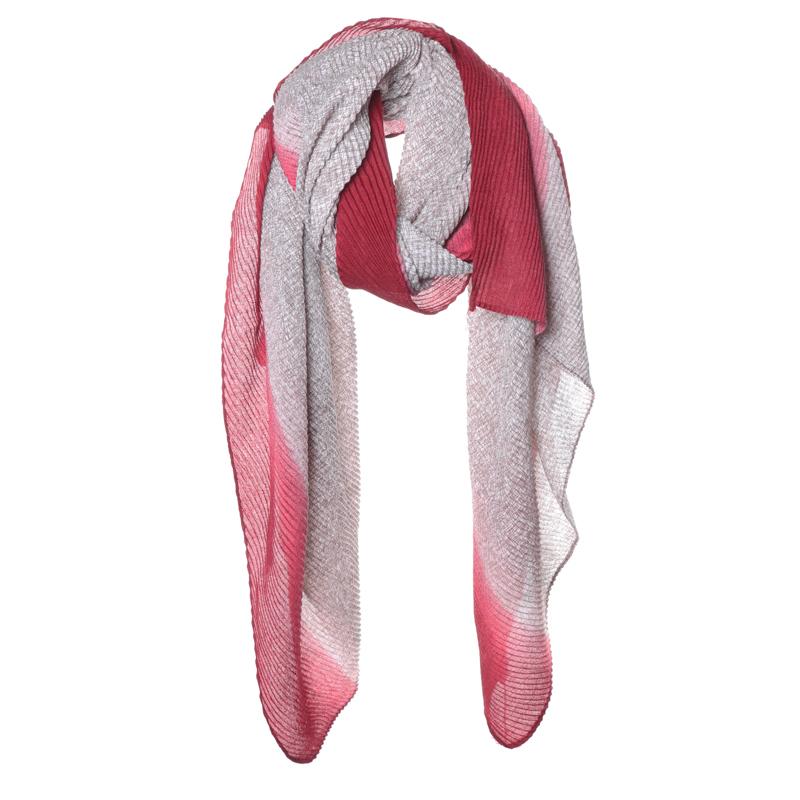 Sjaal Dégradé rood