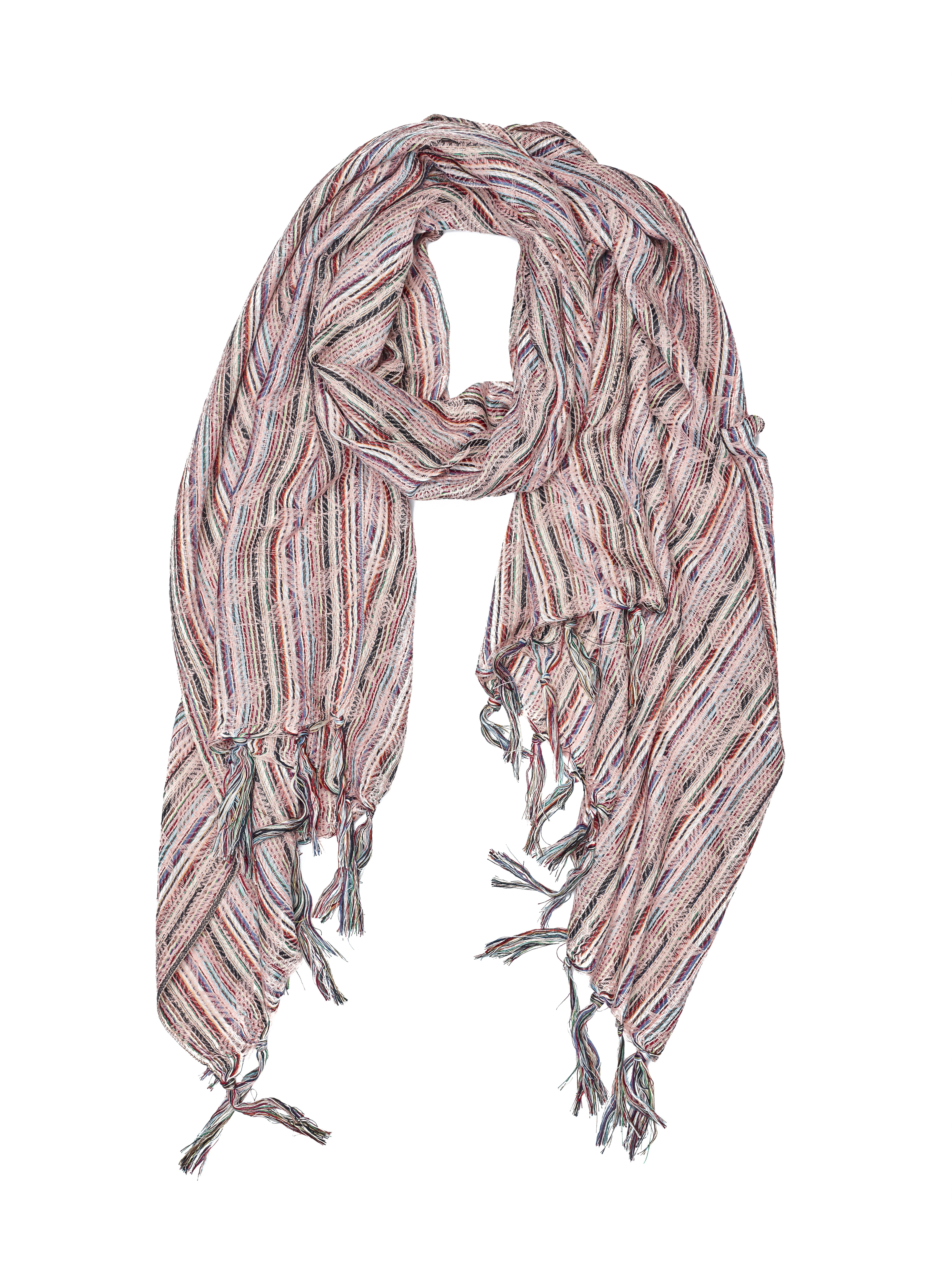 Sjaal Senior pink