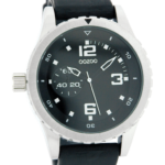 Timepieces horloge C3679 zwart