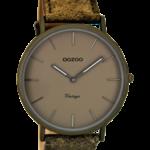 Vintage horloge C8136 zandgrijs