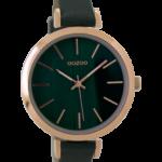 Timepieces horloge C9238 donkergroen