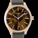 Timepieces horloge C9504 grijs/olifant