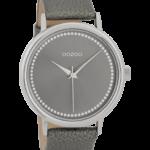 Timepieces horloge C9708 grijs/zilver