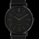 Vintage horloge C9932 zwart