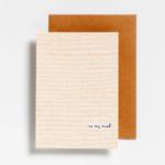 Postkaart On my mind
