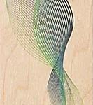 Houten bladwijzer 'woodpecker'